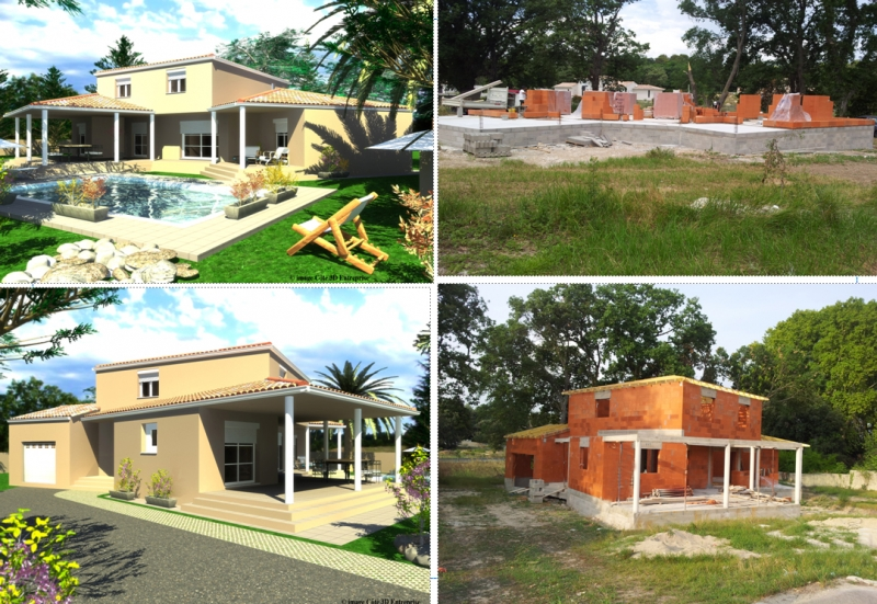 Construction villa saint georges d 39 orques montpellier for Villa concept construction vedene